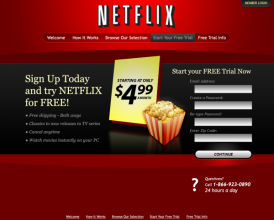 [CONCEPT] NETFLIX WEBSITE HOMEPAGE REDESIGN